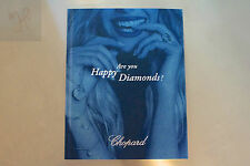 NEW CHOPARD 2015 DIAMONDS WATCH JEWELRY CATALOG COLLECTION BOOK RINGS COLLARS