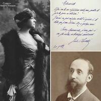 🌓 JULES CLARETIE veut engager BERTHE CERNY à la COMÉDIE FRANÇAISE 1905 Théâtre