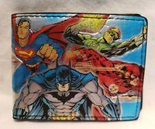 DC Comics Bi-Fold Wallet PU Leather Justice League Batman Superman Green Lantern