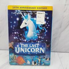 Last Unicorn (DVD, 2007, NEW) 25th Anniversary 1982 Animated with slipcover!