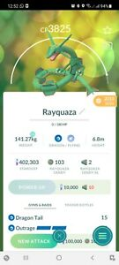Pokemon Legendary Go Rayquaza Level 40 PVP Master League SameDay Trade Or 30 Day