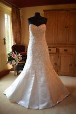 Morilee Satin Plus Size Wedding Dresses