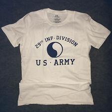 WWII US Army 29th Infantry Division T Shirt Repro w Spec Tag Men's sz S - XL
