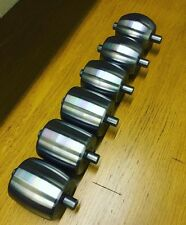 English Wheel 3X3 Inch Anvils, Fantastic Quality Uk Made 5/8 Shafts, Full Radius