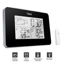 Wireless Weather Station Digital Clock Humidity Outdoor Thermometer SenYLW