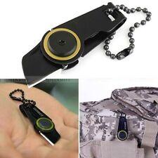 EDC Mini Pocket Tool Military Knife Shiv Zipper Blade Survival Self Defence Gear