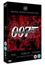 James Bond Film Collection Dr No / Live and Let Die / Die Another Day  [DVD]