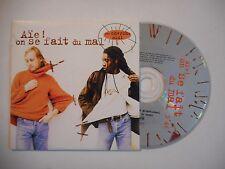 LES CHERCHE MIDI : AIE ! ON SE FAIT DU MAL ♦ CD SINGLE PORT GRATUIT ♦