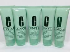 5pc CLINIQUE 7 Day Scrub Cream Cleanser 1.7fl.oz each (Total 8.5oz) Exp.10/2022