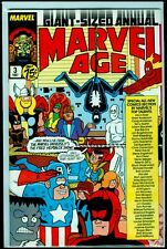 Marvel Comics MARVEL AGE Annual #3 VFN 8.0