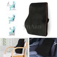 Memory Foam Car Seat Back Waist Pillow Cushion Lumbar Support Home Office Chair