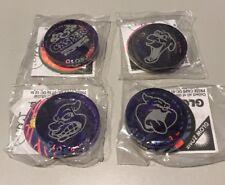 Casper Glo Cap Slammers X4 New In Packet Glowzone 1995 Tazos