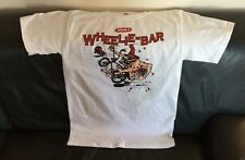 Retro Wham-O Wheelie Bar T Shirt Schwinn Stingray Muscle Bike Lil Red Wagon XL