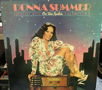 DONNA SUMMER GREATEST HITS ON THE RADIO VOL 1 & 2 LP 1979 CASABLANCA nblp-2-7191