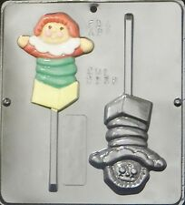 Jack in the Box Lollipop Chocolate Candy Mold 2138 NEW