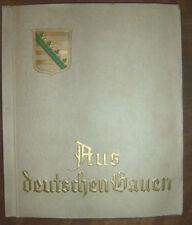 Sammelbilderalbum Aus deutschen Gauen TOP Erhaltung !!