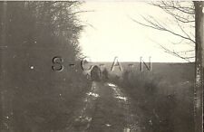 WWI German RP- Soldier- Horse And Wagon- Advance to the Front- 1914-18
