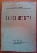 PIERO ALFASA - AMICO , ASCOLTA! - ELLE DI CI