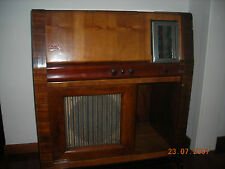 RADIO A VALVOLE IN LEGNO PHONOLA 836 CON GIRADISCHI ANNO 1936 FUNZIONANTE RARA