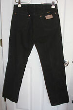 Wrangler Western Jeans 33x32 Black 100% Cotton