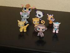LPS Littlest Pet Shop -  8 verschiediene Figuren, Biene, Hunde Katzen Affe usw.