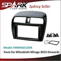 CP Double 2 DIN Facia Kit Panel Fascia Dash W//Pocket For Honda Insight 2010-2013