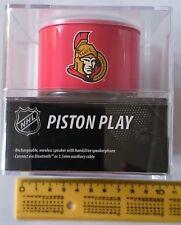 Logiix LGX-11085 Altavoz Portátil Bluetooth Logo Oficial NHL - Color Rojo
