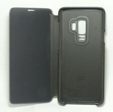 Genuine Samsung - S-View Cover for Samsung Galaxy S9+, Black
