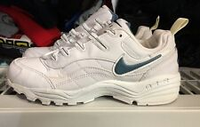 Nike Air Aegis White Leather Slate Ds Vintage Og 1997 Separation