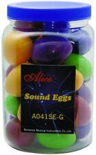 Lot 28 Alice Colorful Sound Eggs Shaker Maracas Percussion School Church Choir