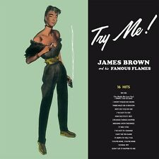 JAMES AND HIS FAMOUS FLAMES BROWN - TRY ME   VINYL LP NEU