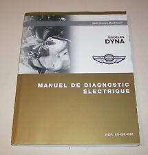 Werkstatthandbuch / Manuel de Diagnostic Harley Davidson Dyna - Elektrik - 2003!