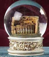 Schneekugel Rom Colosseum Glitzerkugel Snowglobe Italien Souvenir NEU