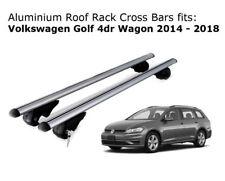 Aluminium Roof Rack Cross Bars fits Volkswagen Golf Wagon 2014-2018