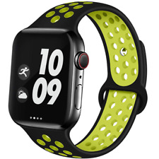 Premium Silicone Sports Watch Band for Apple iWatch Series 1 2 3 4 5 38mm-44mm