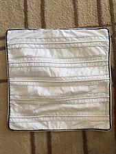 Nautica white with navy trim decorative pillow sham Nautical