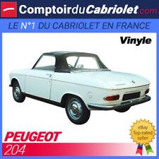 Capote Peugeot 204 cabriolet en Vinyle