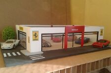 DIORAMA GARAGE FERRARI 1/64 hot wheels.