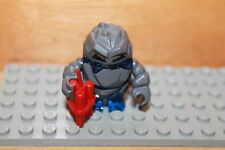 Lego Power Miners - Kristall Monster Glaciator Figur in blau mit Dynamit 8908