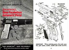 Browning c1970 9mm Parabellum Automatic Pistol Manual
