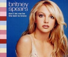 Britney Spears Don't let me be the last to know (2001) [Maxi-CD]