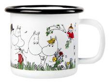 Moomin Enamel Mug Happy Family 0.15 L Muurla