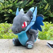 "Pokemon Center Go Plush Toy Mega Charizard X 6"" Cute Stuffed Animal Poke Doll"