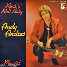 """7"""" ANDY ANDRES ex WIND / VOX & VOX Rock 'n' Roll Baby / Playgirl HANSA NDW 1981"""