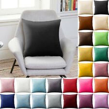 Pillowcase Party Candy Color Throw Pillow Cover Cushion Case Size 45x45cm