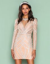 BNWT Forever Unique Tilly Heavily Embellished Lace Shift Dress UK8 RRP £500