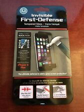 Invisible First Defense Tempered Glass by QMADIX for iPhone 6 plus 6s plus