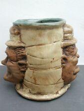 Vintage MCM 1971 Rumph Pottery Laurel & Hardy Mug