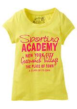 BPC Niños Camiseta De Manga Corta Estampado algodón amarillo talla 116/122