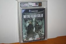 Metal Gear Solid: The Twin Snakes (Gamecube) NEW SEALED BLACK LABEL MINT VGA 90!
